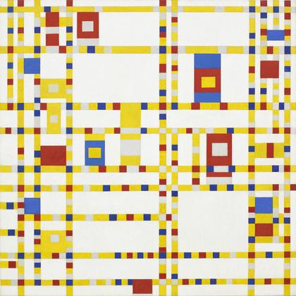 Piet Mondrian: Broadway Boogie Woogie