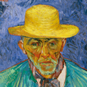 """Van Gogh's """"Portrait of a Peasant"""" On View In New York After 40Years"""