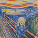 """Munch's """"The Scream"""" Sells for $119.9M at Sotheby's, Setting A World Record.   Watch the entire 12 minutes ofbidding!"""